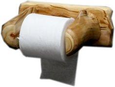 Aspen Log Toilet Paper Holder