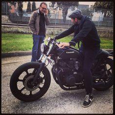 stolen shots of moto#17 by ph@giordanomocchegiani in #ricciarellicomunicazione / #recycles