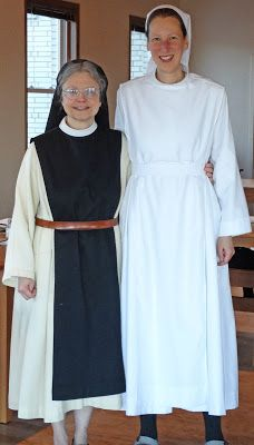 Our Lady of Mississippi Abbey Cistercian nuns new novice
