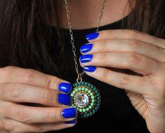 8 blue nail polishes prettier than a peacock