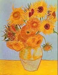 Los girasoles de Vang Gogh