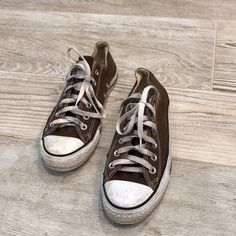 db1c4cbb74ec Shop Women s Converse Brown size 8 Sneakers at a discounted price at  Poshmark.
