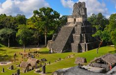La città Maya di Tikal in Guatemala