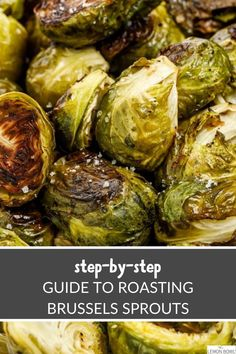The easiest guide to make perfectly cripsy, delicious, and healthy Brussels sprouts every time #recipes #thanksgiving #sidedishes #appetizers #holidayrecipes Food Dishes, Side Dishes, Lemon Bowl, Grilled Vegetables, Side Dish Recipes, Step Guide, Vegetable Recipes, Sprouts, Holiday Recipes