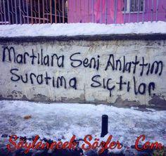 Martılar - Duvar Yazıları - Söylenecek Sözler