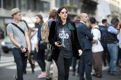 Après New York et Londres, les Fashionistas Ont Débarqué à Milan Jour 2