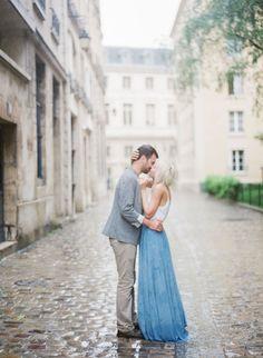 Beautiful rainy engagement session: http://www.stylemepretty.com/little-black-book-blog/2016/08/25/rainy-paris-anniversary-session/ Photography: Peter & Veronika - http://peterandveronika.com/language/en/