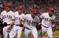 Rangers take two out of three from Angels.