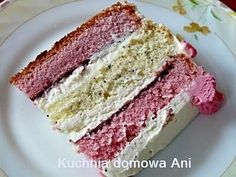 Tort biszkoptowy z kremem mascarpone Mini Cakes, International Recipes, Food Pictures, Vanilla Cake, Cookie Recipes, Delish, Food And Drink, Favorite Recipes, Sweets