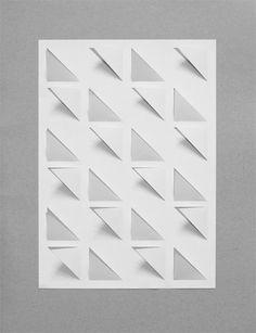 Susanne Stefanizen / Cutting triangles