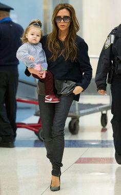 Victoria Beckham & Harper #favouritemotherdaughterduos