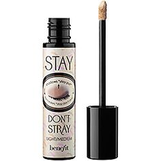 Benefit Cosmetics - Stay Don't Stray - acts as a primer and concealer. I have four deluxe samples.