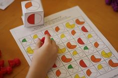 free fractions printables