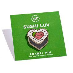 Sushi Luv Enamel Pin