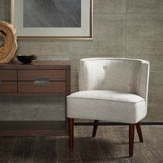 Sierra Off White Accent Chair - Overstock Shopping - Great Deals on Living Room Chairs