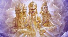 Hindu Triumvirate (Trimurti) – Brahma, Vishnu, and Shiva - Insight state Lord Vishnu, Lord Shiva, Navratri Songs, Amazing India, India Culture, Birth And Death, Durga, Hinduism, Deities