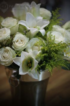 Arranjo floral para Receber Bem por Patricia Junqueira {Home, Receber & Baby} www.patriciajunqueira.com.br