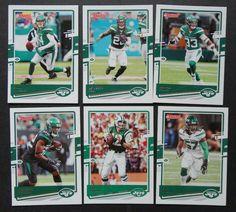 2020 Donruss New York Jets Veterans Base Team Set of 6 Football Cards #NewYorkJets