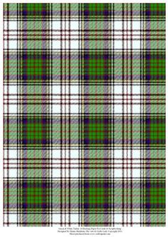 Green White Tartan Effect A4 Backing Paper on Craftsuprint designed by Elaine Sheldrake - Perfect backing paper for matting cards and scrapbooking for Christmas, New Year, Hogmany, Burns Night, Highland games etc. - Now available for download!