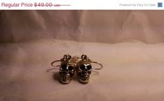 ON SALE TODAY Vintage Day of the Dead Sterling Silver by Glamaroni