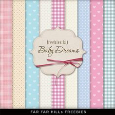 FREE Freebies Backgrounds - Baby Dreams By Far Far Hill