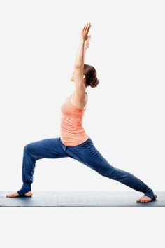 Yoga For Weight Loss - Warrior Pose