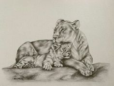 mother lion with cubs tattoo Lioness And Cub Tattoo, Lion Cub Tattoo, Leo Lion Tattoos, Lioness And Cubs, Cubs Tattoo, Lion Tattoo Design, Baby Tattoos, Animal Tattoos, Tatoos