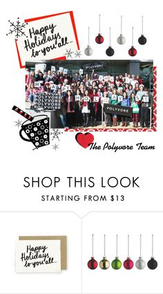 """Happy Holidays!"" by polyvore ❤ liked on Polyvore featuring women's clothing, women's fashion, women, female, woman, misses and juniors"
