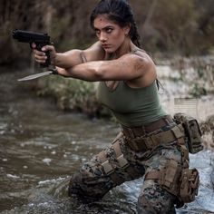 Girl with a Weapon david gallagher nude Military girl . Women in the military . Women with guns . Girls with weapons Poses References, Military Women, Military Female, Female Soldier, Military Girl, Warrior Girl, Action Poses, Badass Women, Special Forces
