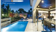 Love an alfresco area that opens to a pool
