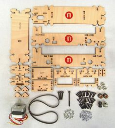 """MakerBrot CupCake opensource  3D printer kit """"your  own little factory!"""""""