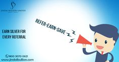 Earn Silver for every Referral!! #ReferEarnSave #Silver