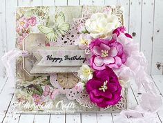 A Mermaids Crafts: Happy Birthday and Christmas Cards For Lemoncraft