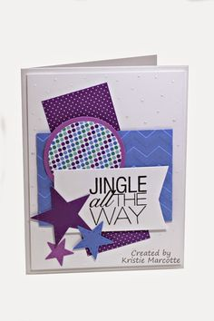 """Kristie Marcotte's Doodlebug's """"Frosty Friends"""" 6x6 paper pad Tutorial (YouTube)"""