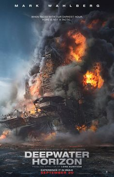 DEEPWATER HORIZON Directed by Peter Berg, starring Mark Wahlberg, Kurt Russell, John Malkovich, Kate Hudson. Reenactment of events leading up to the catastrophic Deepwater Horizon oil rig disaster in Hard hitting. Movies And Series, New Movies, Movies Online, Good Movies, 2016 Movies, Imdb Movies, John Malkovich, Blur Photo Background, Love Background Images