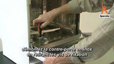 Electroménager Charitable Schreiber Réfrigérateur Frigo Paire De Charnières De Porte Doubles Durable In Use