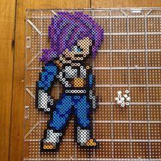 Trunks DBZ perler beads by mastablasta3