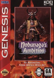 Nobunaga's Ambition - Genesis Game