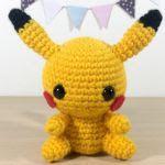 Patron gratis pikachu pokemon amigurumi | Free amigurumi pattern pikachu pokemon