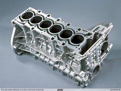 BMW N52 Magnesium Aluminum inline 6 cylinder engine block