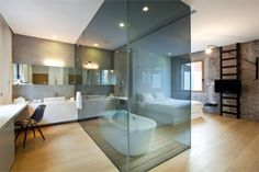 Glass Bath.