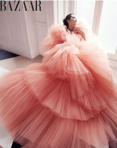 Bella Hadid enchants in haute couture for Harper& Bazaar - Bella Hadid . - Bella Hadid enchants in haute couture for Harper& Bazaar – Bella Hadid enchants in haute co - Dior Haute Couture, Haute Couture Dresses, Style Couture, Fashion Week, Trendy Fashion, Runway Fashion, High Fashion, Fashion Show, Fashion Design