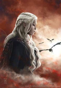 Daenerys. Tribute to Game of Thrones by Livia De Simone