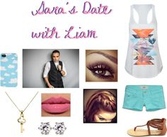 """saras date with liam"" by jessie-horan ❤ liked on Polyvore"