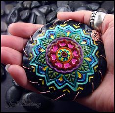 Clay Rattle - Lotus by andromeda.deviantart.com on @deviantART