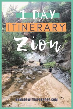 Zion National Park: 1 Day Itinerary This ultimate travel guide to Zion National Park will tell you everything you need to know about where to stay, what to hike, how to get there, and more. Click now for our guide to Zion national park in 1 day Zion T, Hiking The Narrows, Narrows Zion National Park, Zion Park, Oh The Places You'll Go, Places To Visit, Riverside Walk, Cities, Us National Parks