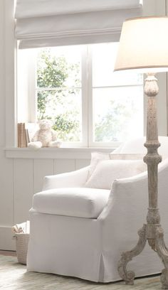 neutrals and whites create a peaceful space.