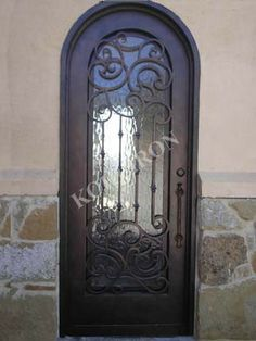 Wrought Iron Doors-Remembrance of Things past. www.kohliron.com