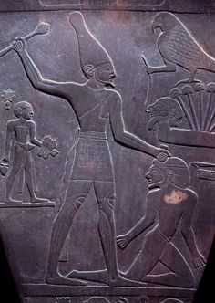 Ancient Egyptian Hyeroglyphs, proving without a doubt that humans were considered a 'Slave Race', by the Pharaoh's and the Ancient Aliens whose Technology kept them in Power.