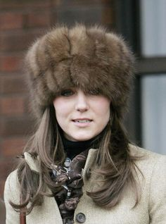 Kate Middleton ( not a fan of the fur hat )